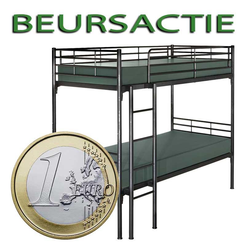 Slapen voor een Euro